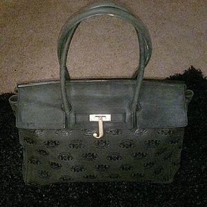 Juicy couture monogram  satchel